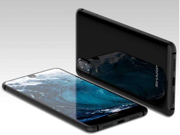 "Телефон Sharp AQUOS S2 5.5"" (C10) 4/64GB Black / Global / NFC / Snapdragon 630 / 12Мп / 2700мАч"