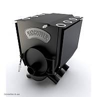 """Печь булерьян c варочной поверхностью """"Новослав"""" VANCOUVER LUX 11 кВт - 260 М3 Тип-01"""
