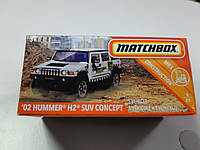 Машинка Matchbox Hummer H2 Suv Concept Матчбокс Автомобиль 1:64