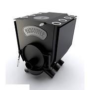 """Печь булерьян c варочной поверхностью """"Новослав"""" VANCOUVER LUX (конфорка) 11 кВт - 260 М3 Тип-01"""