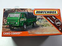 Машинка Matchbox Camo Convoy Матчбокс Автомобиль 1:64