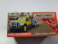 Машинка Matchbox Ford F-550 Superduty Матчбокс Автомобиль 1:64