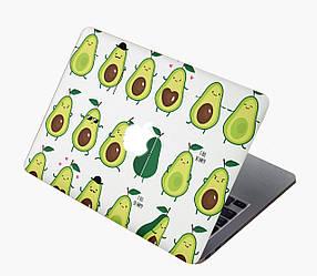 Комплект виниловых наклеек с мультяшными авокадо для MacBook Air 11 (А1370/А1465)