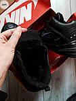 Мужские зимние кроссовки Nike M2K Tenko (черные), фото 2