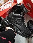 Мужские зимние кроссовки Nike M2K Tenko (черные), фото 3