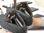 Мужские зимние кроссовки Nike Air Huarache (темно-зеленые), фото 4