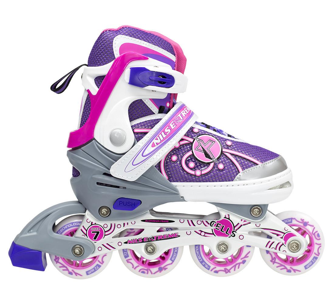 Роликовые коньки Nils Extreme NA1152A Size 39-42 Pink