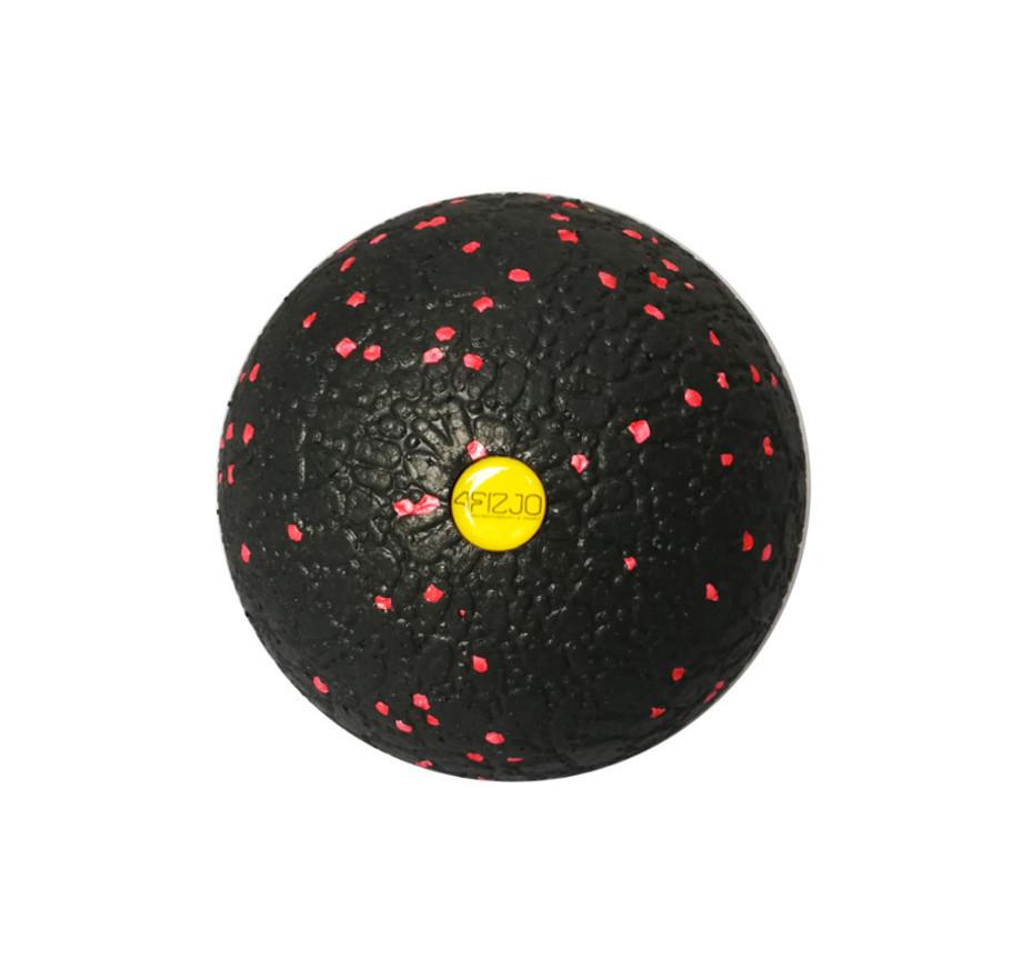 Масажний м'яч 4FIZJO EPP 12 см 4FJ1271 Black/Red