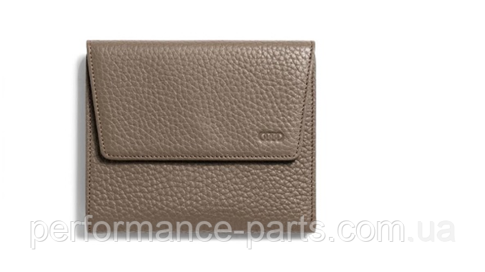 Женское портмоне Audi Wallet Leather Taupe, Women,3141700600