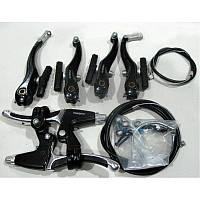 Комплект велосипедных тормозов ALHONGA (вибрейк)