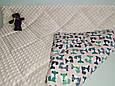 Одеяло плед детское стеганное минки плюшMINKY, хлопок, микрофибра, фото 4