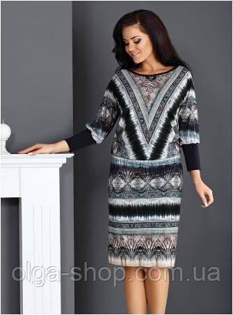 Платье женское до колена с длинным рукавом Top Bis 2015