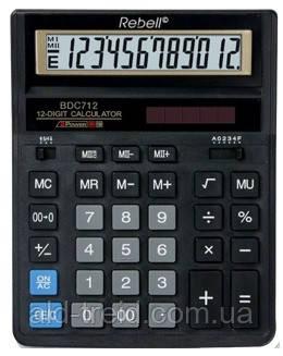 Калькулятор Rebell BDC-712