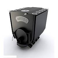"""Печь булерьян c варочной поверхностью """"Новослав"""" MONTREAL LUX ( конфорка)18 кВт - 500 М3 Тип-02"""