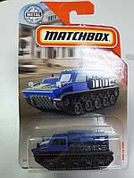 Машинка Matchbox RSQ-18 Tank Матчбокс Автомобиль Танк 1:64