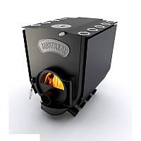 """Печь булерьян c варочной поверхностью """"Новослав"""" MONTREAL LUX (конфорка и стекло)18 кВт - 500 М3 Тип-02"""