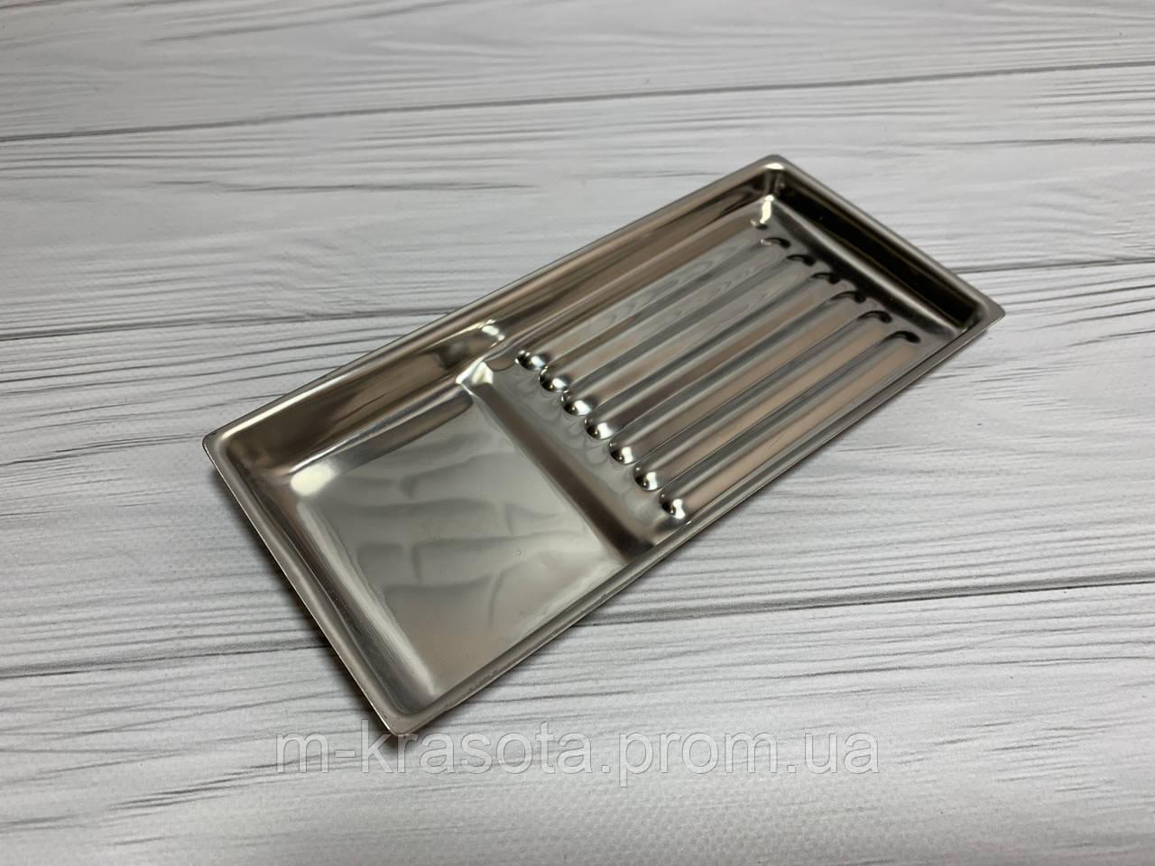 Лоток з нержавіючої сталі для інструменту, 195х90 мм