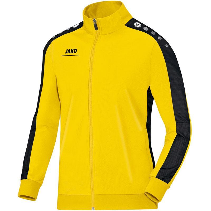 Куртка Jako Polyester Jacket Striker 9316-03 детская цвет: желтый/черный