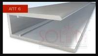 Алюмінієвий торцевий профіль АПТ - 6мм ТМ SOLIDPROF (кольоровий)