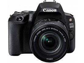 Дзеркальний фотоапарат CANON EOS 200D + CANON 18-55MM DC III + 75-300MM III