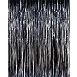 Шторки из черного дождика для фотозоны (высота 4м, ширина 1м), фото 3