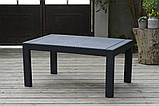 Набір садових меблів Victoria Lounge Set зі штучного ротанга ( Allibert by Keter ), фото 2