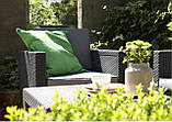 Набір садових меблів Victoria Lounge Set зі штучного ротанга ( Allibert by Keter ), фото 7