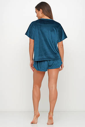 Плюшевая пижама шортики и футболка TM Orli, фото 2