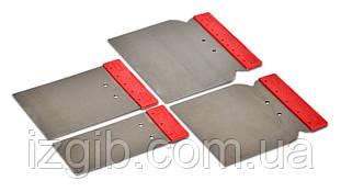 Набор шпателей нержавеющих 50/80/100/120мм 4 шт. сталь