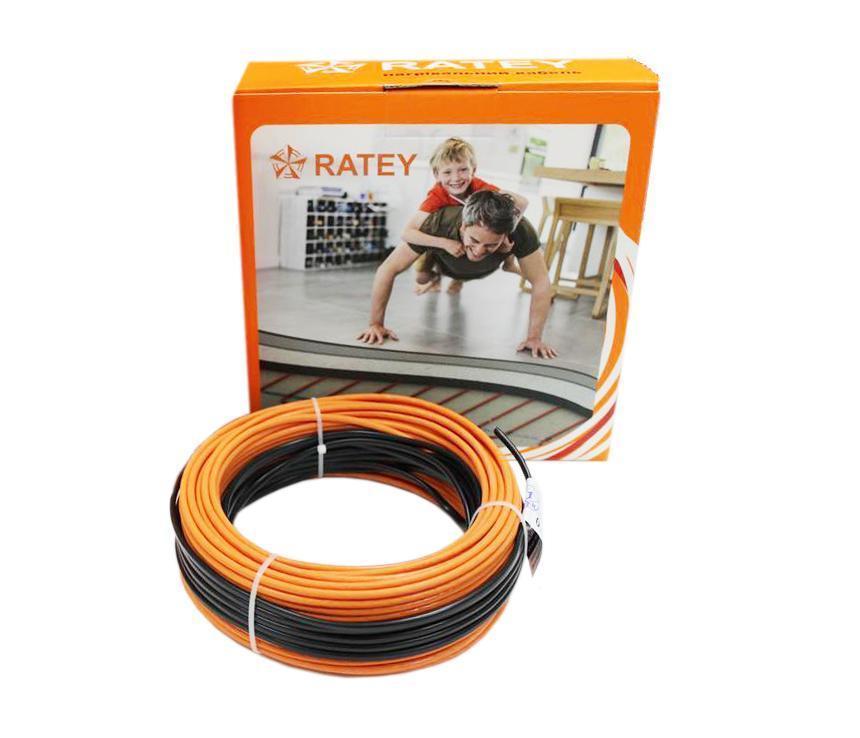 Нагревательный кабель RATEY RD2 / 6.9 м / 0.7 - 0.9 м² / 125 Вт