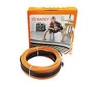 Нагревательный кабель RATEY RD2 / 6.9 м / 0.7 - 0.9 м² / 125 Вт, фото 1