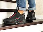 Мужские зимние кроссовки Reebok I3 (черно-красные), фото 4