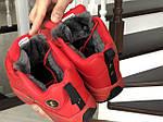 Мужские зимние кроссовки Reebok I3 (черно-красные), фото 5