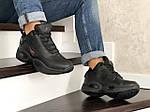 Мужские зимние кроссовки Reebok I3 (черные), фото 4