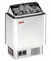 Helo CUP 80 STJ хром - Настенная электрокаменка (8 kW, 8-12 м. куб., 23 кг камней)