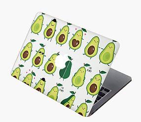 Комплект виниловых наклеек с мультяшными авокадо для MacBook Air 13 (А1369/А1466)