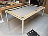 Більярдний стіл-трансформер «Ультра» на металевих ніжках з кришкою, фото 2