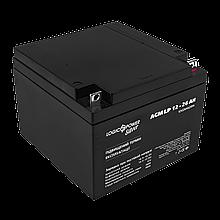 Аккумулятор кислотный AGM LogicPower LP 12 - 26 AH SILVER