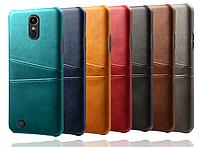 Кожаный чехол бампер с карманами для LeEco Le S3 / Le 2 / Le 2 Pro / Есть стекла /, фото 1