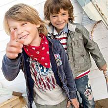 Детская ветровка для мальчика BRUMS Италия 140 см
