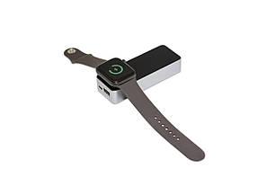 Портативный аккумулятор Qitech Brick Powerbank с поддержкой зарядки Apple Watch (QT-Brick-Bk), фото 2