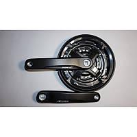Велосипедный шатун PROWHEEL (алюминиевый, модель CN68 24-34-42 зубов (05)