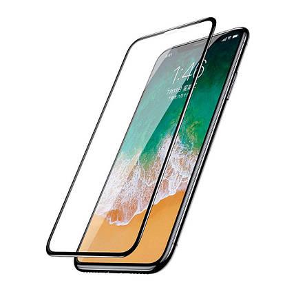 Защитное стекло Baseus Screen Protector Full Screen для iPhone XS Max Black (SGAPIPH65-TN01), фото 2