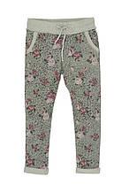 Детские спортивные штаны для девочки Krytik Италия 94542 / KB / 00A Серый весеннии осенью демисезонные