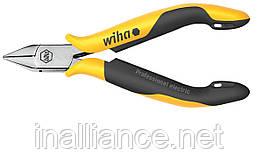 Бокорезы антистатические 115 мм широкая острая форма Professional ESD Wiha 26816