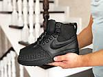 Мужские кроссовки Nike Lunar Force 1 Duckboot (черные), фото 3