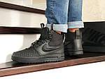 Мужские кроссовки Nike Lunar Force 1 Duckboot (черные), фото 5