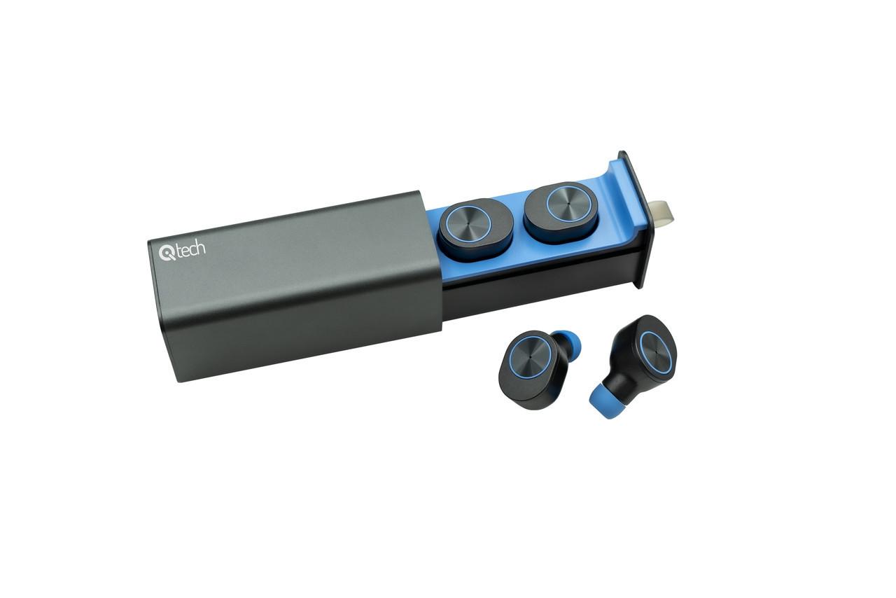 Беспроводные наушники Qitech Qibuds Bluetooth 5.0 цвет синий (Qibuds5.0bl)