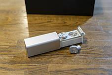Беспроводные наушники Qitech Qibuds Bluetooth 5.0 цвет серебристый (Qibuds5.0sl), фото 3