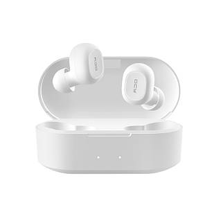 Беспроводные Bluetooth наушники вкладыши QCY T2S с функцией беспроводной зарядки, белые (T2S), фото 2